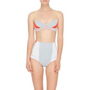 Cynthia Rowley Swim Bottom High Waist NWT